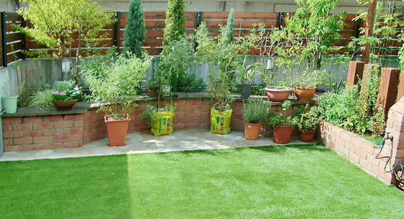 芝猿の人工芝はお庭にぴったり!